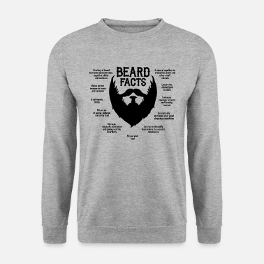 Bart Beard Facts (black) - Männer Pullover