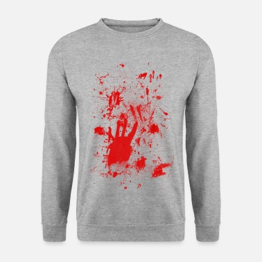 Splatter Splashes of blood / blood Smeared - Men's Sweatshirt