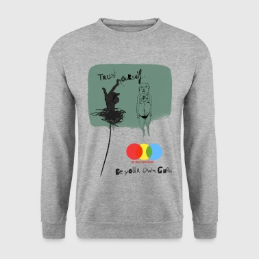 Trust yourself - Männer Pullover