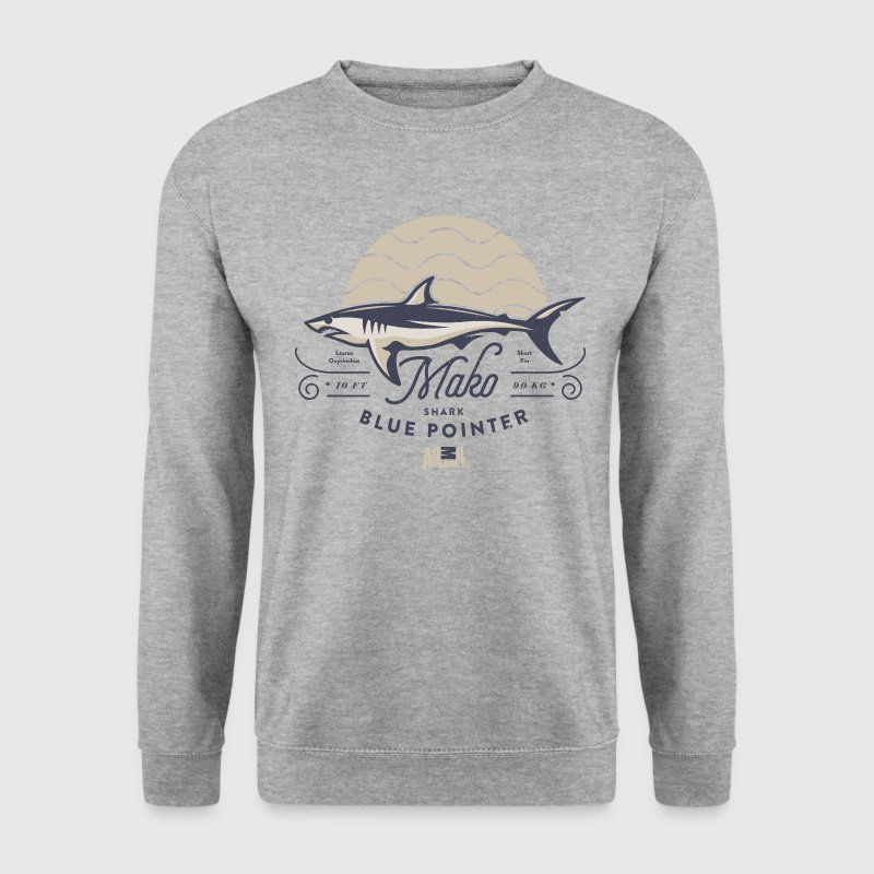 Animal Planet Makohai Blue Pointer Shark - Männer Pullover