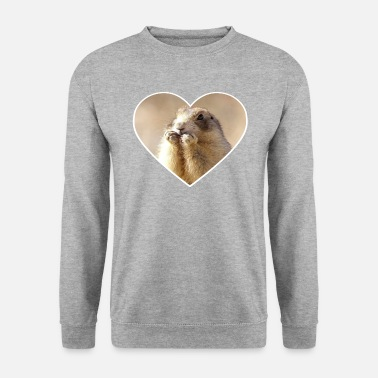 Rodent rodent rodents heart cute - Men's Sweatshirt