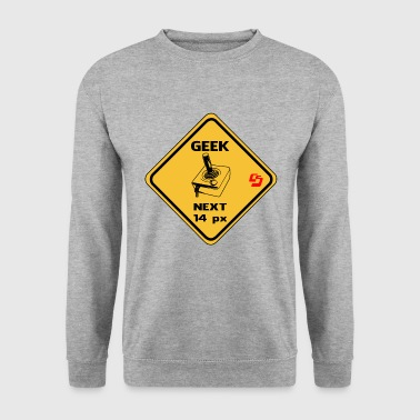 roadsign geek by customstyle - Sweat-shirt Homme