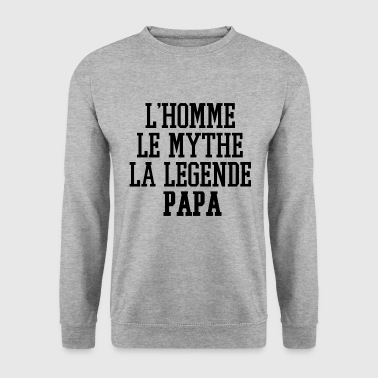 La Legende Papa - Sweat-shirt Homme