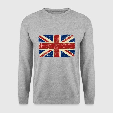 Union Jack - UK - Vintage Look  - Männer Pullover