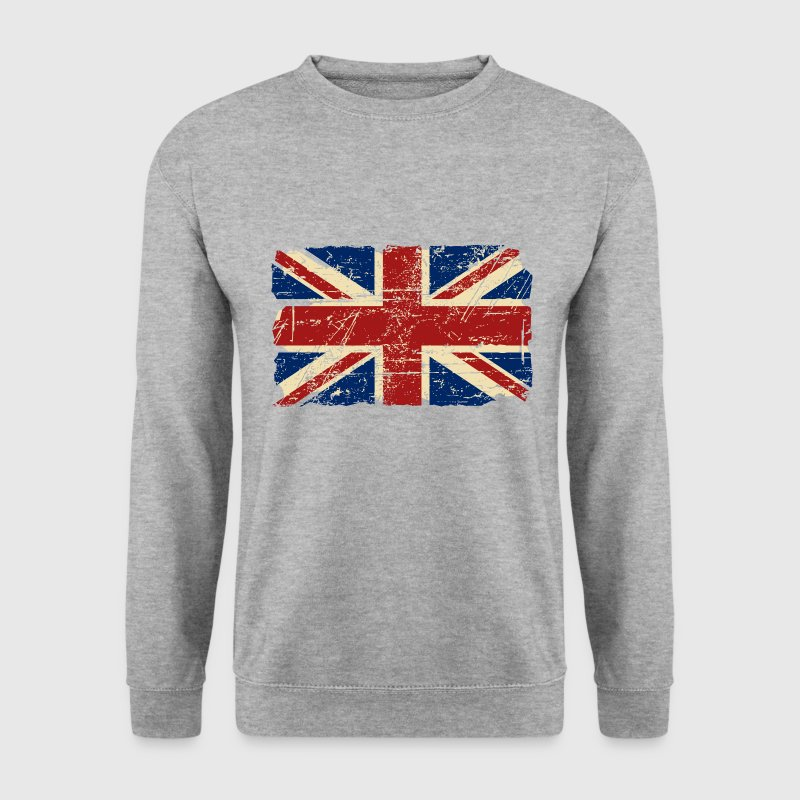 Union Jack - UK - Vintage Look  - Men's Sweatshirt