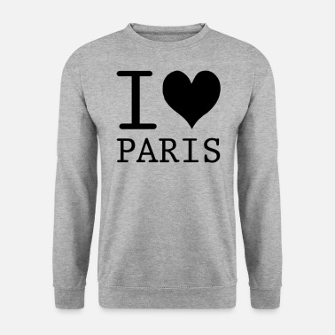 I Love Paris I Love Paris Kocham Paris prezent - Bluza męska