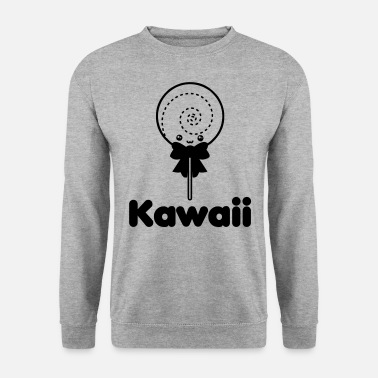 Manga Kawaii comme c'est mignon Japan Sweets Lollipop Lollipop - Sweat-shirt Homme