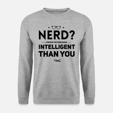 Geek Nerd geek - Herre sweater