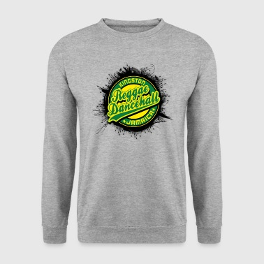 kingston reggae dancehall jamaica - Men's Sweatshirt