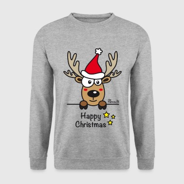 Baby Renne, Noël - Happy Christmas - Sweat-shirt Homme