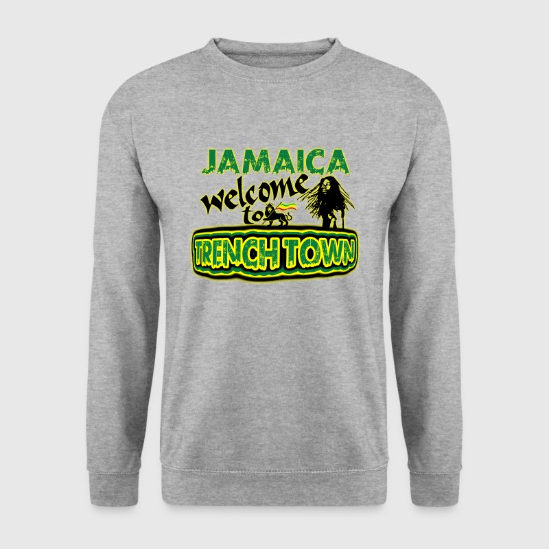 jamaica welcome to trench town - Men's Sweatshirt