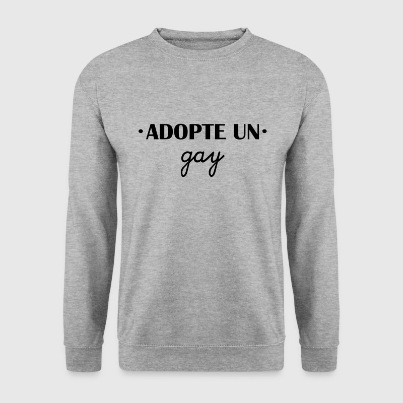 Adopte un gay - Sweat-shirt Homme