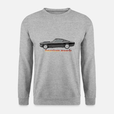 Muscle-car American muscle car - Männer Pullover