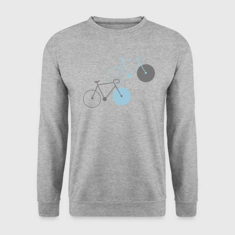 bike singlespeed fixie bicycle - Men's Sweatshirt