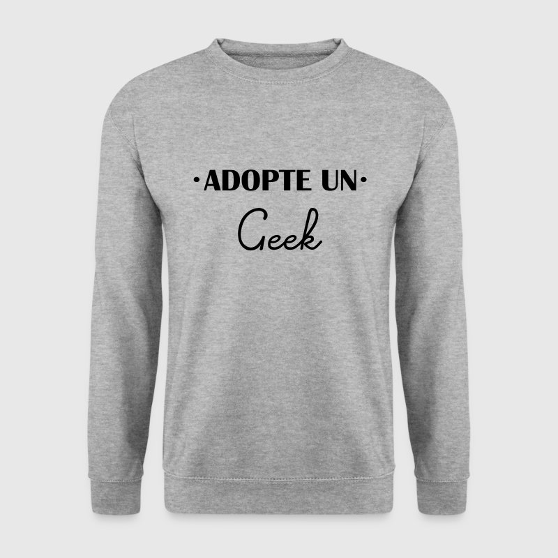adopte un geek - Sweat-shirt Homme