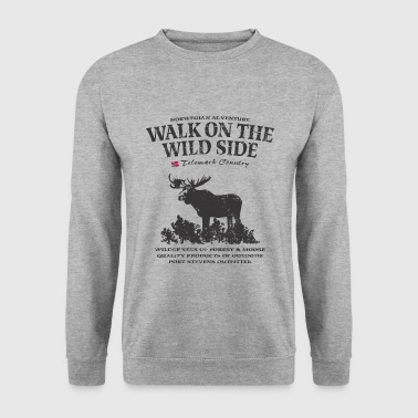 Moose - Telemark Norway - Vintage Look - Mannen sweater