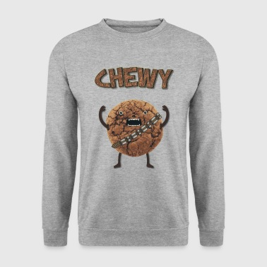 Funny Nerd Humor - Chewy Chocolate Cookie Wookiee - Men's Sweatshirt