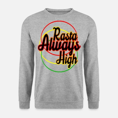 Jaune rasta - Sweat-shirt Homme