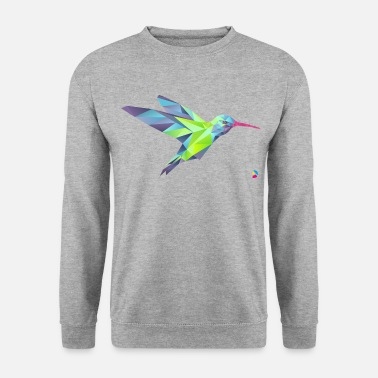 Hummingbird AD Geometric Hummingbird - Men's Sweatshirt
