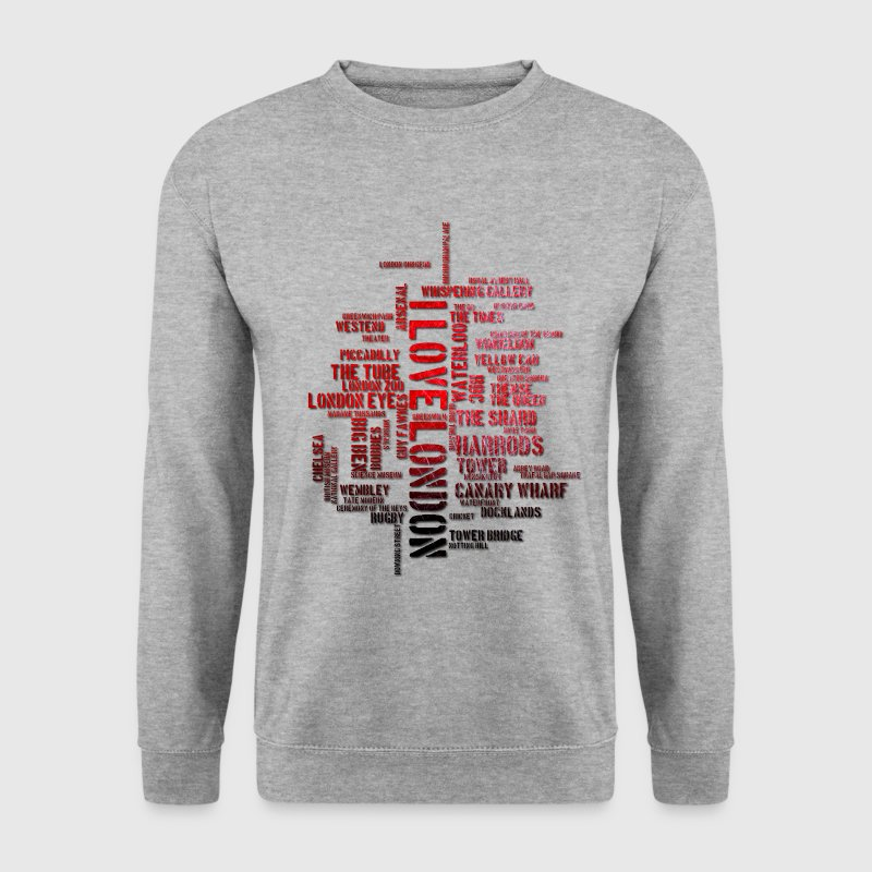 I Love London - Männer Pullover