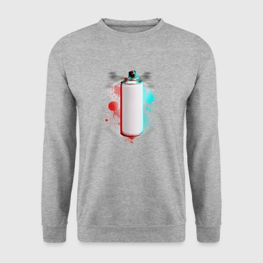 Bombe peinture taches  Sweat-shirts - Sweat-shirt Homme