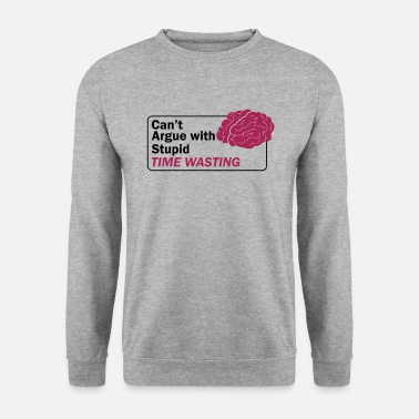Im With Stupid Can't argue with stupid - Männer Pullover