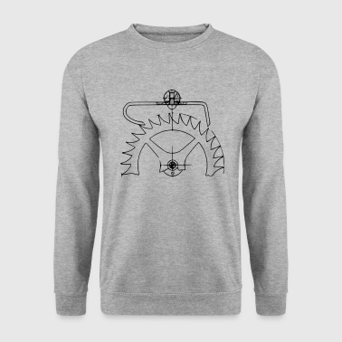 ancre de salut - Sweat-shirt Homme