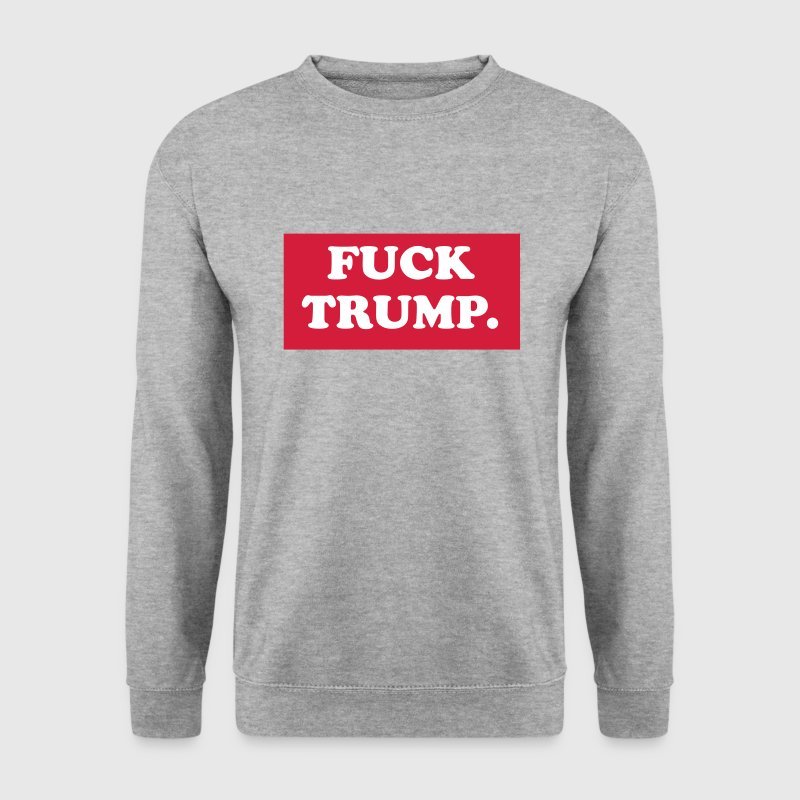 Fuck trump - Mannen sweater