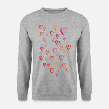 The Hundreds a hundred hearts - Men's Sweatshirt