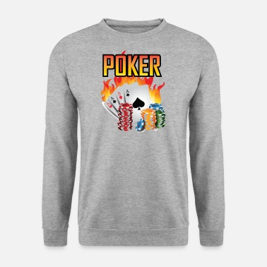 Poker Poker poker - Sweat-shirt Homme