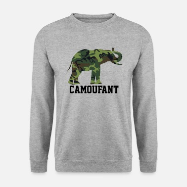 Camouflage Camoufant - Männer Pullover
