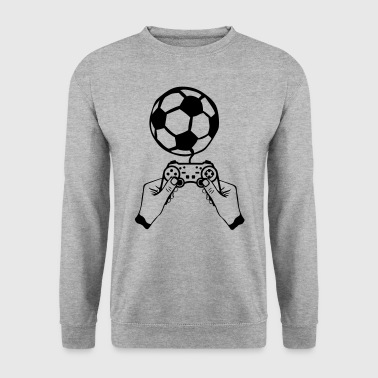 football manette jeux main paddle - Sweat-shirt Homme