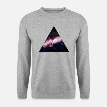 Hipster triangle galaxy galaxie du triangle - Sweat-shirt Homme