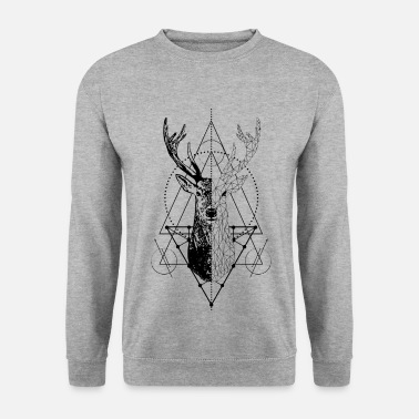 Stag Geometric stag - Men's Sweatshirt