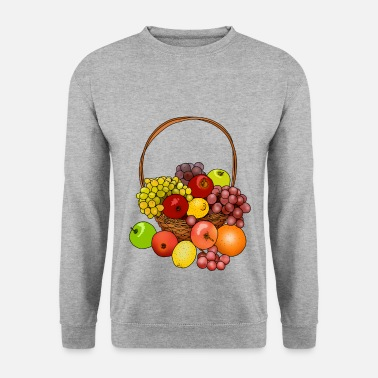 Quartier Une corbeille de fruits donne une excellente idée cadeau - Sweat-shirt Homme