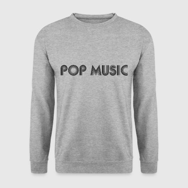 pop music - Bluza męska