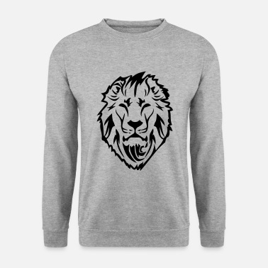 official photos ea8bb 9997f chat-sauvage-de-lion-lion-tete-illustration-sweat-shirt-homme.jpg