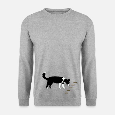Border Collie Obedience 1 - Men's Sweatshirt