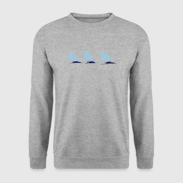 mouette port mer - Sweat-shirt Homme