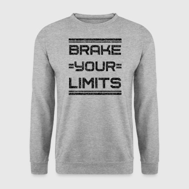 Trainings Motivation Fitness Inspiration Wille shirt - Men's Sweatshirt