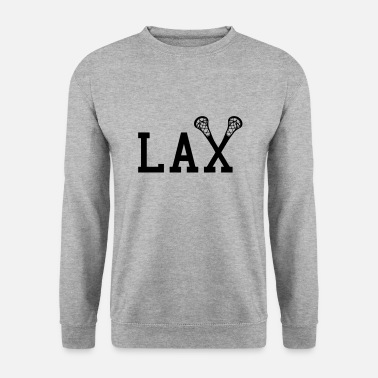 Style Collège Américain LAX Lacrosse College Style - Sweat-shirt Homme