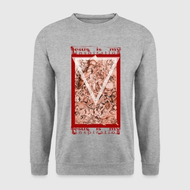 jesus is my inspiration - Männer Pullover