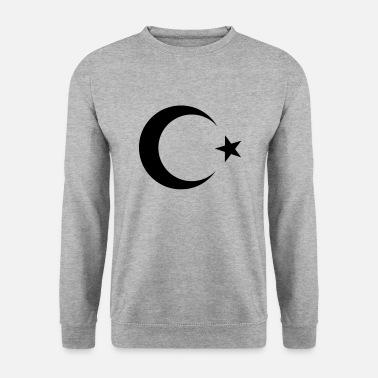 8b9404a9513c Langærmet T-Shirt med V-udskæring dame. Tyrkiet flagmåne og stjerne. fra  295 kr. Stjerne Tyrkiet Tyrkiet - Türkiye Moon stjerne - Sweatshirt mænd