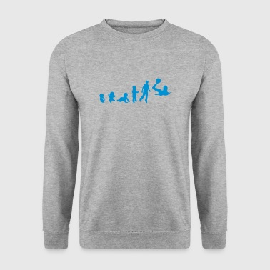 Waterpolo evolution waterpolo foetus human humain  - Sweat-shirt Homme