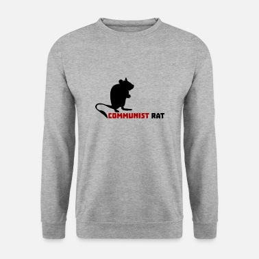 Communiste Rat communiste - Sweat-shirt Homme