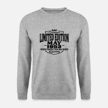 1953 Limited edition may 1953 - Men's Sweatshirt
