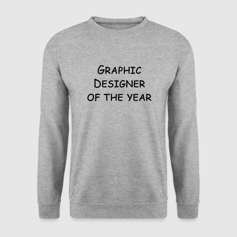 graphic designer of the year - Männer Pullover