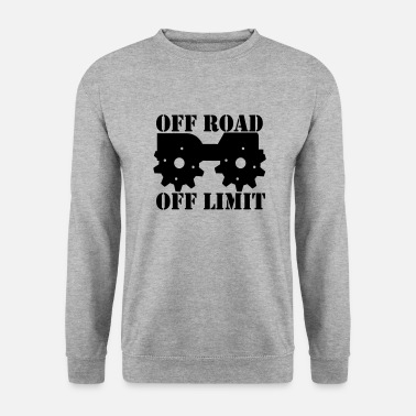 Off Off Road Off Limit - Miesten svetaripaita
