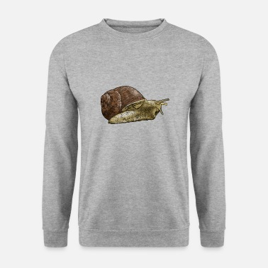 Escargot Escargot - escargot - coquille d'escargot - Sweat-shirt Homme