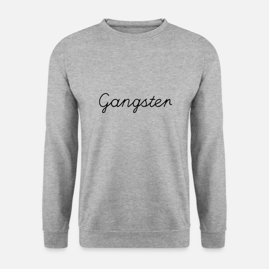 Pirate Sweat-shirts - gangster - Sweat-shirt Homme gris chiné